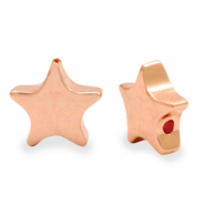 Hematite beads star Rose Gold