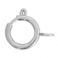 Stainless steel findings clasp 14x17mm Silver