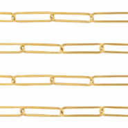 Stainless steel findings belcher chain Gold