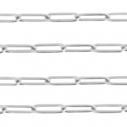 Stainless steel findings belcher chain Silver
