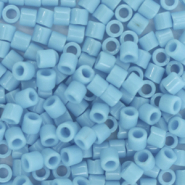 Miyuki beads delica's 8/0 Opaque Turquoise Blue DBL-725