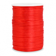 Satin wire 2.5mm Flame Scarlet Red