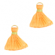Tassels 1.5cm Gold-Paradise Orange