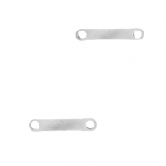 Stainless steel charms bar Silver