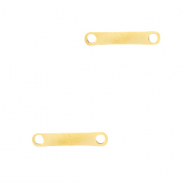 Stainless steel charms bar Gold