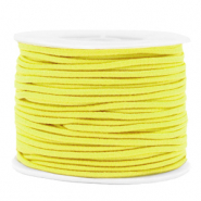 Coloured elastic cord 2mm Yellow