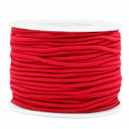 Coloured elastic cord 2mm Red