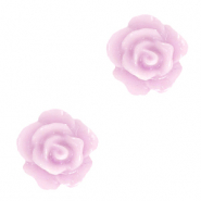 Rose beads 10mm Lilac Pink