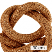 Maritime cord 10mm (3x30cm) Metallic Copper