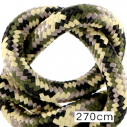 Maritime cord 10mm (270cm) Multicolour Army