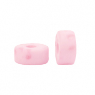 Polaris beads disc 6mm Lava Princess Pink