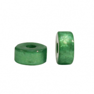 Super Polaris beads disc 4mm Fir Green