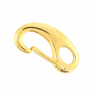 Stainless Steel findings lobster clasp 24mm Gold