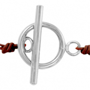 Stainless steel findings toggle clasp Silver