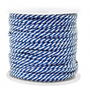 Maritime cord 2mm Blue-White