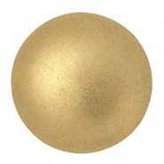 Cabochons par Puca® 25mm Light Gold Mat 00030/01710