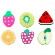 Polymer beads fruit mix Multicolour