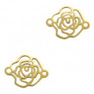 Stainless steel charms/connector rose Gold
