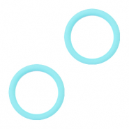 Rubber ends Light Blue