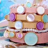NEW New Polaris cabochon and Cuoio bracelets!