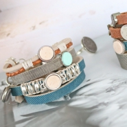 NEW New cuoio bracelets and Polaris cabochons!