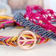NEW New: Macrame string  & trendy cord