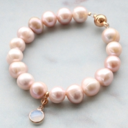 NEW New freshwater pearls in shiny colours!