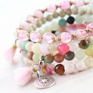 NEW New: Natural stone beads for trendy summer jewellery