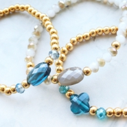 NEW New fashion faceted beads and wire guardians!
