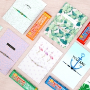 NEW Must-haves! Jewellery cards, bracelets and chocolate!