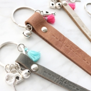 Inspirational Sets Designer Quality leather keychains
