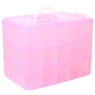 Large jewellery storage box Rose