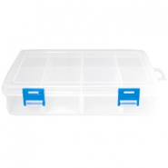 8 Compartment Jewellery storage box Transparant