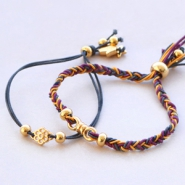 Inspirational Sets Trendy bracelets of coloured elastic cord