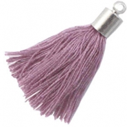 tassels with end caps Lavender orchid purple