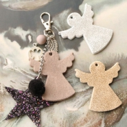 Inspirational Sets Keychains with angels and stars!