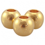 DQ metal ball 5x6mm Gold (nickel free)
