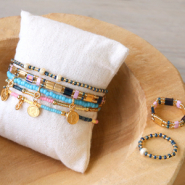 Inspirational Sets Create trendy must-have jewellery with Miyuki beads delica's