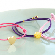 Inspirational Sets With this coloured elastic cord you can make the nicest bracelets!