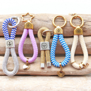 Inspirational Sets DIY: trendy keychains with maritime cord