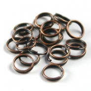 8mm spliring / double ring Copper colour