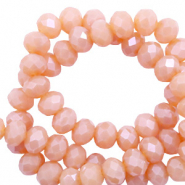 Top faceted beads Top faceted beads 6x4mm disc