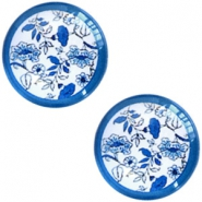 Beads / charms Delft Blue beads