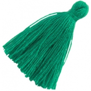 Large tassels Emerald green