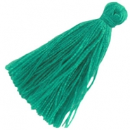 Large tassels Light emerald green