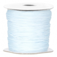 Macramé bead cord Light blue