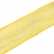 DQ silk ribbon Yellow gold