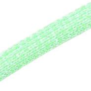 Dreamz glitter cord 10mm Bright green