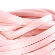 Flat DQ silk cord 5mm Sunkiss coral