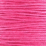 Waxed cord 1.0mm Hot pink